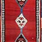 Bijar Antique Kurdish Persian Kilim by Vicky Brago-Mitchell