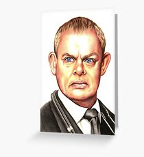 Doc Martin : Martin Clunes Greeting Card