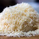 Grated parmesan cheese by naturalis