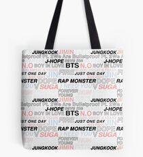 BTS - Bangtan style Tote Bag
