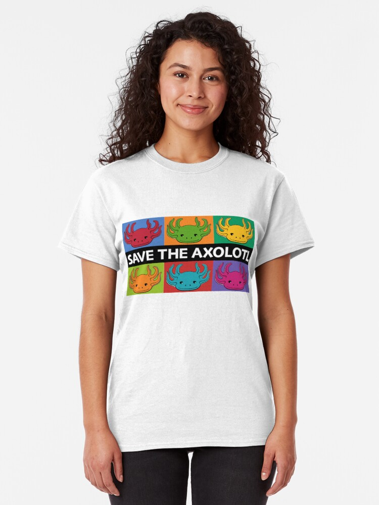 Alternate view of Save the Axolotl Classic T-Shirt