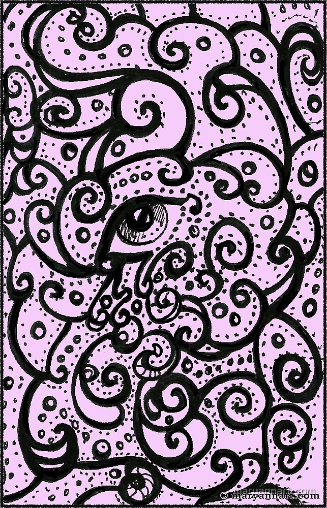 Eye Swirls by maryannart-com