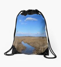 Captree Island Drawstring Bag