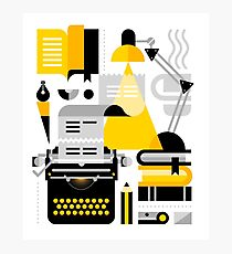 Creative Writing Photographic Print