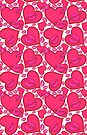Hearts and Kisses Pattern by LaRoach