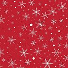 Twinkle Snowflake 4 -Jester Red & White- by lematworks