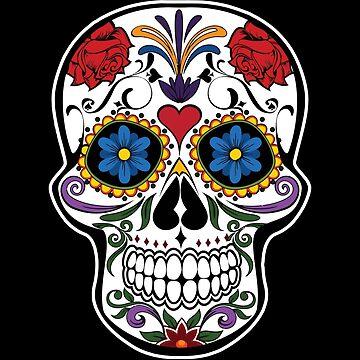 Dia De Los Muertos Day Of The Dead by inkedtee