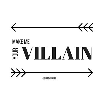 Make Me Your Villain by avdreaderart