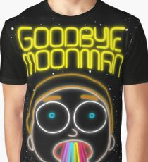 Rick and Morty : Neon (Goodbye Moonman) Morty Graphic T-Shirt