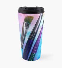 Rainbow Art Supplies Travel Mug