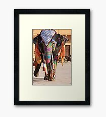 Walking Gracefully Framed Print