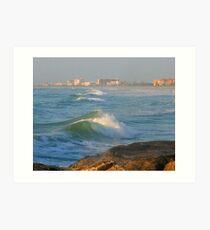 Ocean/Sea ... be3 Art Print