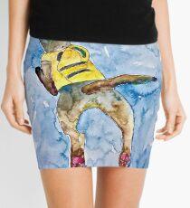 Minifalda perro nadador