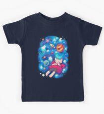 Camiseta para niños espacio