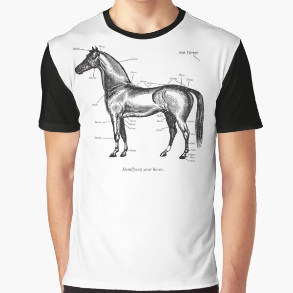 Identifying your horse Graphic T-Shirt