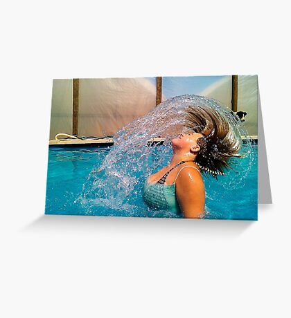 The Things Water Can Do Greeting Card