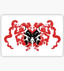 Batwoman Abstract Sticker