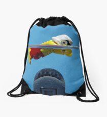 Star-Jaws Drawstring Bag