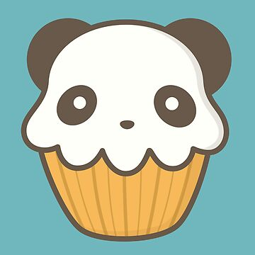 Tasty Cupcake Panda Is Kawaii Cute by happinessinatee