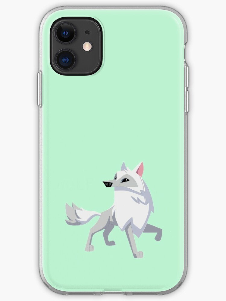 Arctic Wolf iPhone 11 case