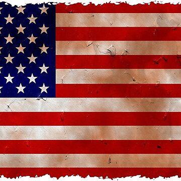 USA Flag - American - Bandera USA by EfrainGaleano