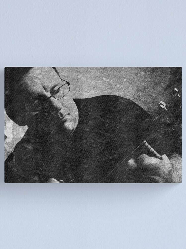 Alternate view of The guitarist Canvas Print