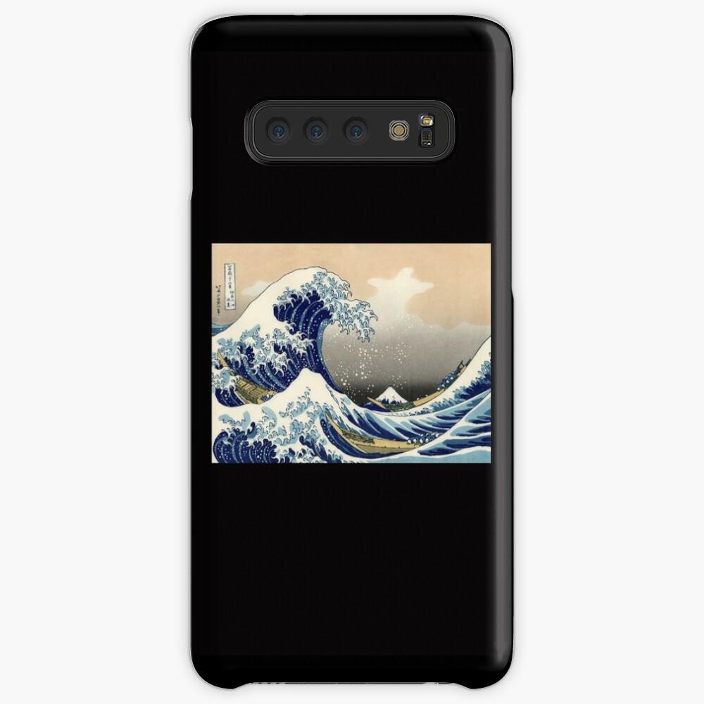 """""""Die große Welle vor Kanagawa"""" von Katsushika Hokusai (Reproduktion) Hülle & Klebefolie für Samsung Galaxy"""