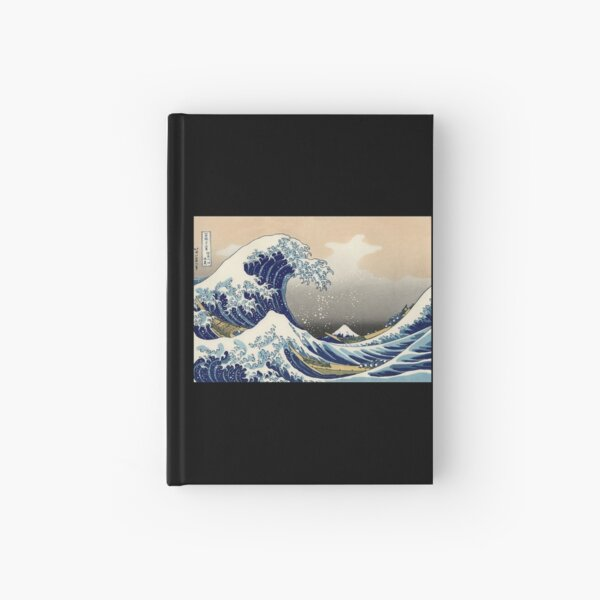 'The Great Wave Off Kanagawa' by Katsushika Hokusai (Reproduction) Hardcover Journal