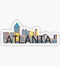 Atlanta Sticker Sticker