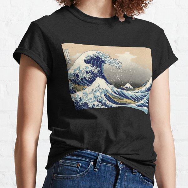 """""""Die große Welle vor Kanagawa"""" von Katsushika Hokusai (Reproduktion) Classic T-Shirt"""