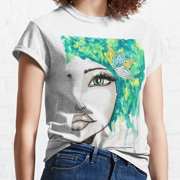 Green Earth Goddess Classic T-Shirt