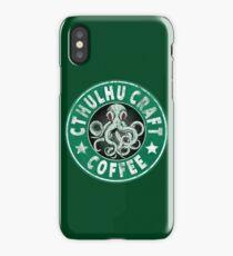 Cthulhu Craft Coffee iPhone Case/Skin