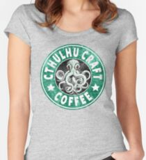 Cthulhu Craft Coffee Women's Fitted Scoop T-Shirt