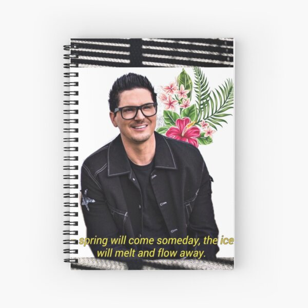 Zak Bagans Spiral Notebook