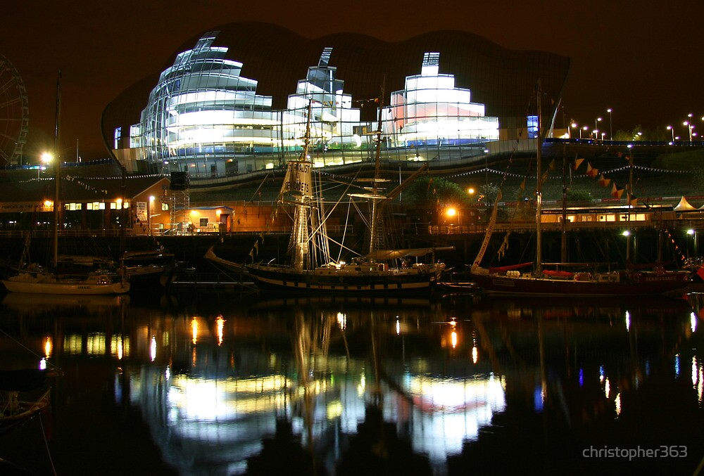 Reflections on River Tyne by christopher363