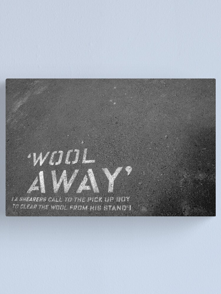 "Alternate view of ""Wool Away"" Canvas Print"