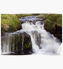 Softly Flowing Poster