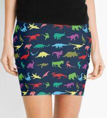 Colorful Mini Dinosaur  Mini Skirt