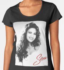 Königin Tejano Premium Rundhals-Shirt