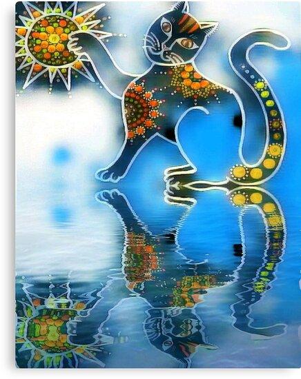 «Gato de agua» de PaniaBrown