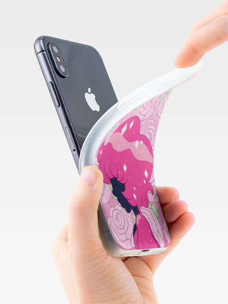 Alternate view of Pink Diamond iPhone Case & Cover