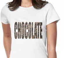 Chocolate chocolate Womens Fitted T-Shirt