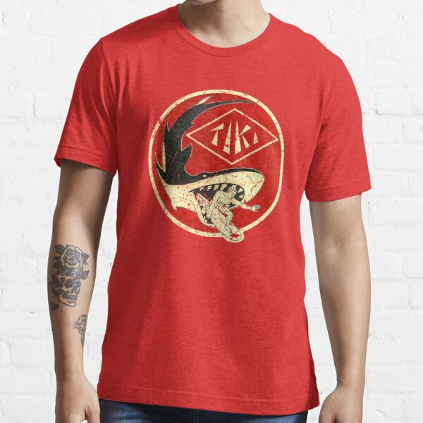 Tiki Shark Essential T-Shirt