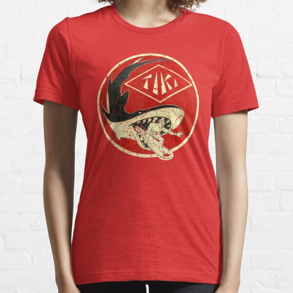 Tiki Shark Essential T-Shirt
