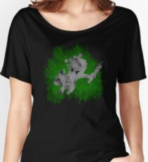 The Minish Brush Green Women's Relaxed Fit T-Shirt