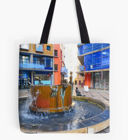 Ladies Enjoying Cool Water Tote Bag