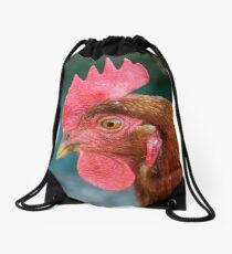 Domestic Chicken Drawstring Bag