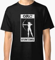 Archery Orc Hunting Verein Pfeil Hobby Bogen Classic T-Shirt