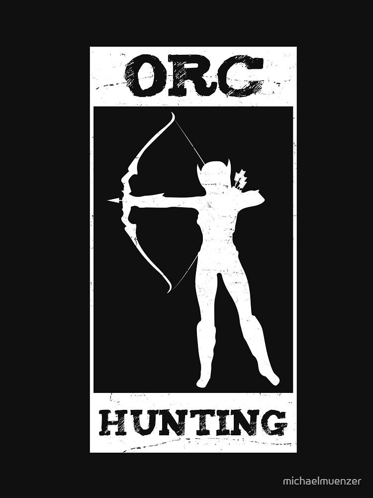 Archery Orc Hunting Verein Pfeil Hobby Bogen by michaelmuenzer