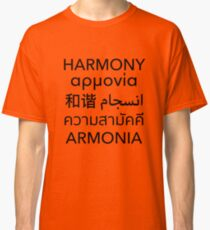 Harmony Day Classic T-Shirt